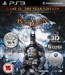 Batman : Arkham Asylum - Game of the Year (PS3)