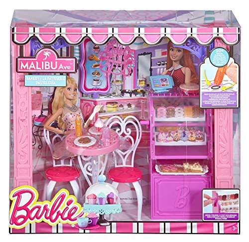 Mattel ccl74 barbie i negozi di malibu avenue for Casa di malibu di barbie