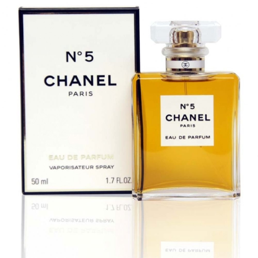 Chanel perfume no 5 logo