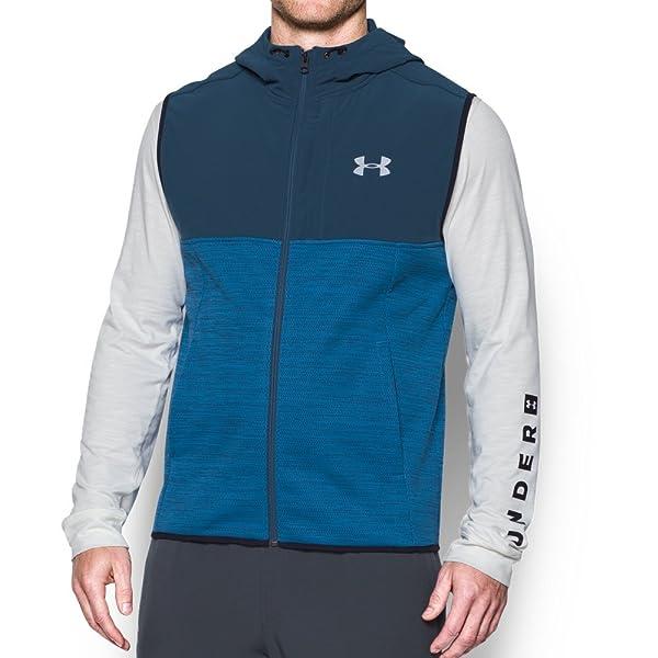 size 40 7cda5 b8c6d Under Armour Men s Storm Swacket Vest,Cruise Blue (899) Reflective, Large  (Color  Cruise Blue ...