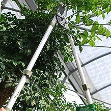 Worth Garden Professional Telescopic Bypass Lopper, Long Reach Branches Trimmer W/ Antirust Blade, Extendible...