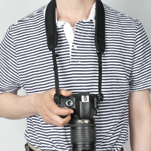 Anti Slip Neoprene Camera shoulder/Neck Strap Belt + Cup Pad for Canon