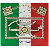 Double 12 Numeral Mexican Train Dominoes with 2-in-1 Hub ~ CHH