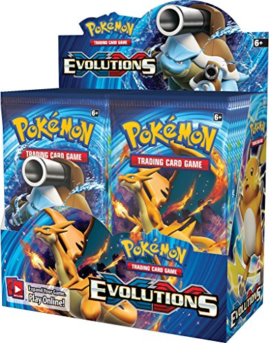"Pokemon 14500 ""XY #12 Evolutions"" Booster Display Box (Pack of 36)"