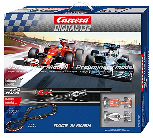 Carrera Digital 132 - Race 'N Rush Race Set