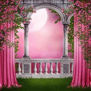 Amazon.com : Pink Garden 10' x 10' CP Backdrop Computer