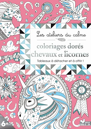 Coloriages-dors-Chevaux-et-licornes