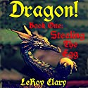 DRAGON!, Book 1: Stealing the Egg Audiobook by LeRoy Clary Narrated by Michael Burnette