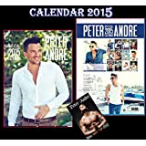 PETER ANDRE OFFICIAL CALENDAR 2015 + PETER ANDRE FRIDGE MAGNET