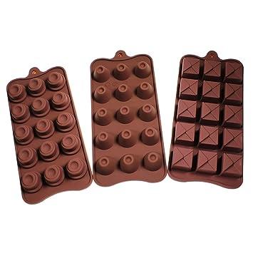 6er set flexible pralinen bonbon eisw rfelschale aus silikon zum backen oder einfrieren schale. Black Bedroom Furniture Sets. Home Design Ideas