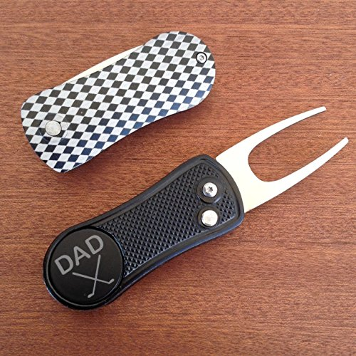 DAD-Golf-Ball-Marker-Divot-Tool-Switchblade-Style-Christmas-Gift-for-Dad-Golf-Gift-For-Men