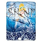 Disney, Cinderella, My Time to Shine 46-Inch-by-60-Inch Micro-Raschel Blanket by The Northwest Company