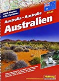 Australien Straßenatlas: Sehenswürdigkeiten, Stadtpläne, Nationalparks (Hallwag Atlanten)