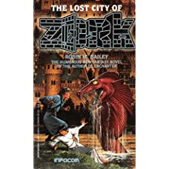 The Lost City of Zork (Infocom) by Robin Bailey