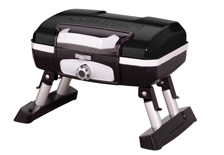 Cuisinart CGG-180TB Gourmet Portable Gas Grill, Petit, Black