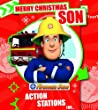 Fireman Sam Son Christmas Greeting Card