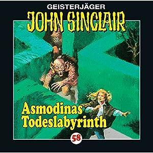 Asmodinas Todeslabyrinth (John Sinclair 58) Hörspiel