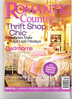 Romantic Country Magazine Spring Summer 2009 Country