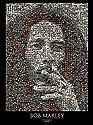 Bob Marley - Photomosaic Art Poster PRINT Unknown 39x55