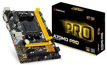 Biostar a70md Pro-Carte mère Micro ATX, AMD a70m, Socket FM2+, USB 3.0, DVI, VGA