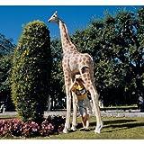 8ft Grande African Wildlife Safari Giraffe Home Garden Statue Sculpture Figurine