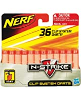 Nerf - 62573 - Recharges Nerf N-Strike Clip System - Pack de 36