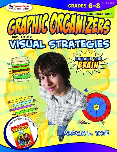 Engage The Brain: Graphic Organizers And Other Visual Strategies, Language Arts, Grades 6-8 front-1033762