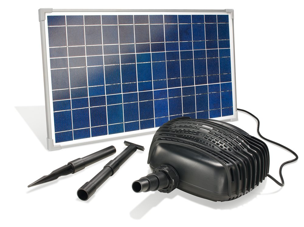 esotec 101762 Solar Bachlaufpumpensystem Garda  GartenKritiken und weitere Informationen