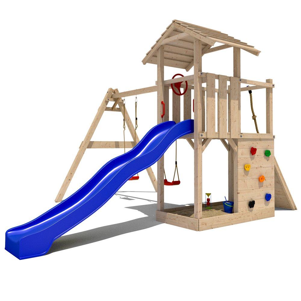 Empire II Spielturm Spielhaus Kletterturm Spielwelt Rutsche Schaukel Stelzenhaus jetzt kaufen