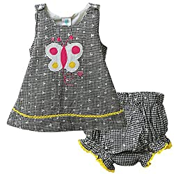 Snuggles Baby Snuggles Top With Bloomer (Bp10037290 -Black -12-18 Months)