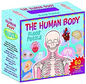 Amazon Com Human Body Floor Puzzle Toys Amp Games
