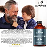 Art-Naturals-Organic-Beard-Oil-Leave-In-Conditioner-2-oz-100-Pure-Natural-Unscented-Best-for-Groomed-Beard-Growth-Mustache-Face-and-Skin-Softens-Your-Beard-and-Stops-Itching-Treats-Acne