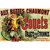 "Jouets Et Objets Pour Etrennes - Art Poster (As Seen On Friends) (Size: 36"" x 24"")"