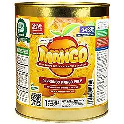 Alphonso Mango Pulp (3 kg)