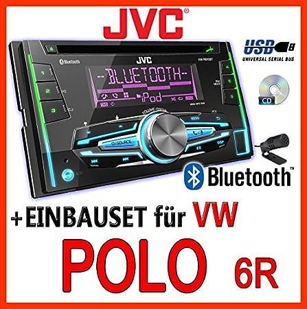VW polo 6R jVC-kW-r910BT 2-dIN avec uSB