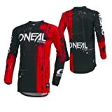 O'Neal Unisex-Child Youth Element Jersey (Shred) (Red, Medium)