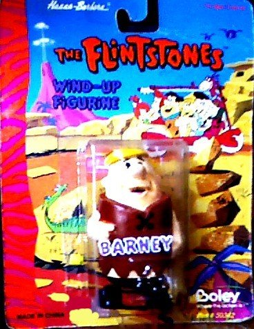 Barney Rubble Wind-up Toy - Hanna-Barbera's The Flintstones Wind-up Figurine - 1