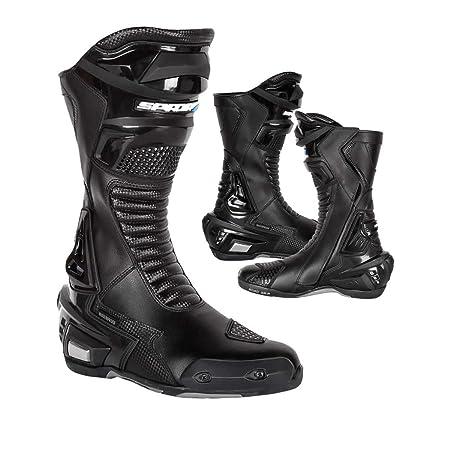 Nouveau 2015 Spada moto X-Race bottes noir