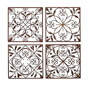 Buy benzara metal wall decor online at low prices in india Low cost wall decor