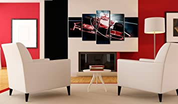 impression sur toile 100x50 100x50 cm 5 parties image image sur toile images photo. Black Bedroom Furniture Sets. Home Design Ideas