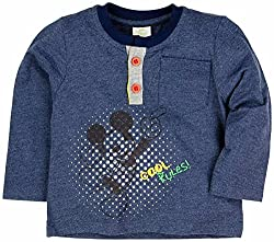 Tee with Henle Neck, GREY, 6-12M (24CM)