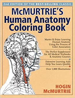 Mcmurtrie 39 s human anatomy coloring book hogin mcmurtrie Anatomy coloring book 6th edition