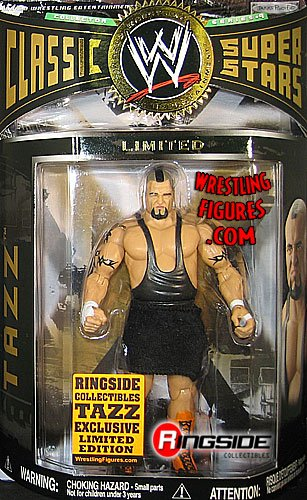 Buy Low Price Jakks Pacific TAZZ – RINGSIDE COLLECTIBLES EMPLOYEE EXCLUSIVE 1 OF 250 CLASSIC SUPERSTARS WWE TOY WRESTLING ACTION FIGURE (B003MXOB3Y)