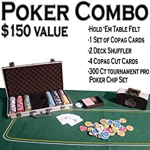 Texas Hold'em Poker Kit Combo Pack – All-in-one Kit Picture