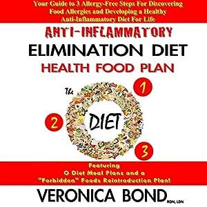 Anti-Inflammatory Elimination Diet Health Food Plan Audiobook