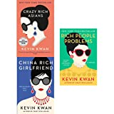 Kevin Kwan Crazy Rich Asians Trilogy Collection 3 Books Set Pack (Crazy Rich Asians, China Rich Girlfriend, Rich People Problems)