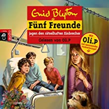 Fünf Freunde jagen den rätselhaften Einbrecher (Fünf Freunde 59) Hörbuch von Enid Blyton Gesprochen von: Oliver Petszokat