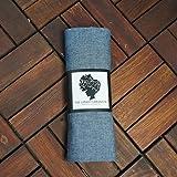 The-Urban-Turbanista-Head-Wrap-Extra-Long-Denim-Blue-Jean-Headwrap-Scarf-Tie