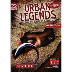 Urban Legends - Complete Series - Seasons 1 through 4 (8 DVD Set - 22 Hours) - Amazon.com Exclusive