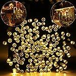 Solar LED String Lights, Hallomall 20...